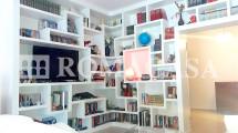 Libreria Appartamento Collina Lanciani -ROMACASA